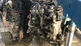 Замена двигателя Nissan Pathfinder