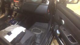Замена вентилятора печки Nissan Tiida