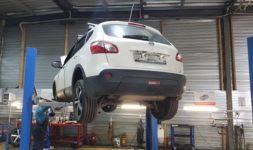 Замена передней левой ступицы Nissan Quashqai Нью Лайн