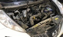 Замена свечей зажигания Nissan Juke