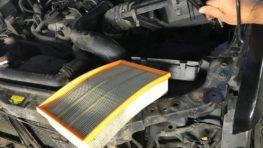 Замена воздушного фильтра Nissan Pathfinder