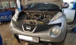 Замена генератора Nissan Juke