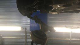 Замена передних рычагов Nissan Teana