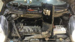 Чистка дроссельной заслонки Nissan Micra