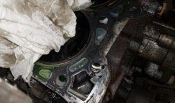 Замена прокладки и ГБЦ Nissan Pathfinder