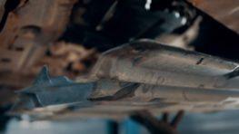 Установка защиты двигателя внутреннего сгорания на автомобиле Nissan в Санкт-Петербурге