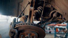 Снятие переднего левого привода Nissan